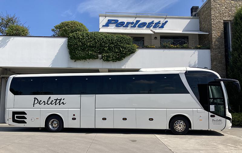 noleggio bus Man Lion's Coach Bianco